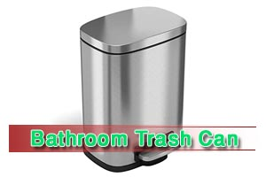 Top Rated 7 Best Bathroom Trash Can Reviews & Buying Guide