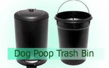 Dog Poop Trash Bin