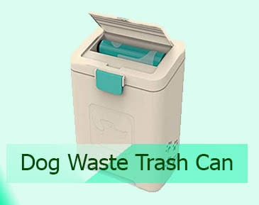 Dog Waste Trash Can