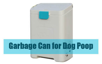 Garbage Can for Dog Poop