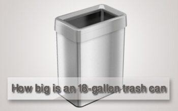 18-gallon trash can